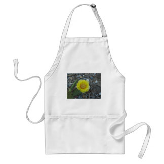 prickly pear blossom adult apron