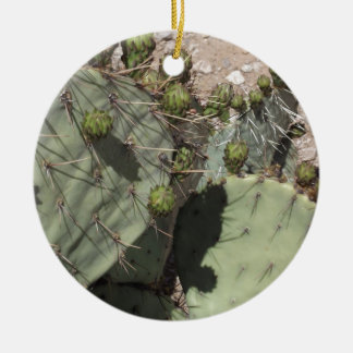 Prickly Pear Buds Christmas Ornament
