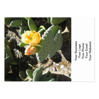 Prickly Pear Bunny Large Business Card