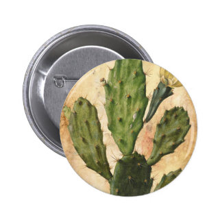 Prickly Pear 2 Inch Round Button