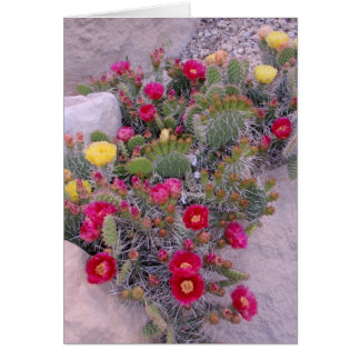 Prickly Pear Cacti Card