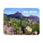 Prickly Pear Cactus Big Bend National Park Vinyl Magnet