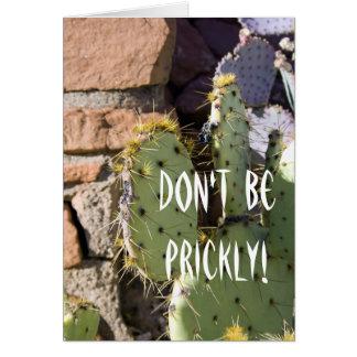 Prickly Pear Cactus Birthday Card