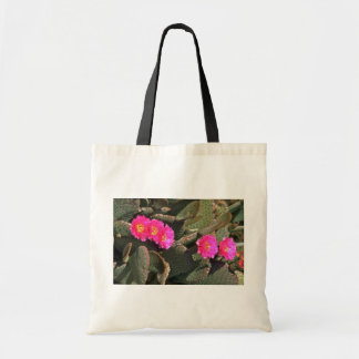 Prickly Pear Cactus Canvas Bags
