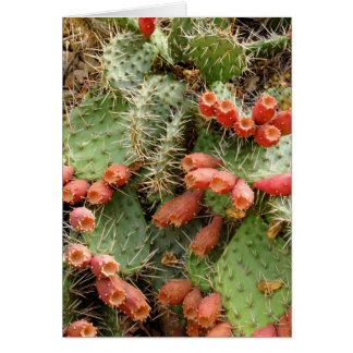 Prickly Pear Cactus Card