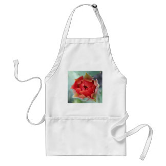 Prickly Pear Cactus Flower Adult Apron