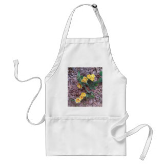 Prickly Pear Cactus Flowers Adult Apron
