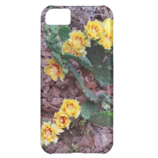 Prickly Pear Cactus Flowers Case For iPhone 5C