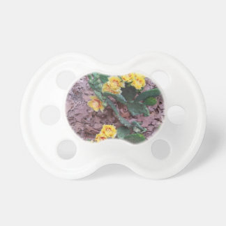 Prickly Pear Cactus Flowers Pacifier