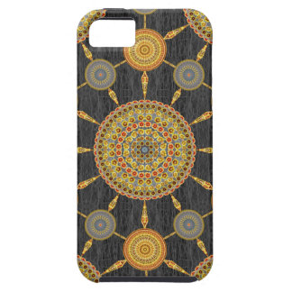 Prickly Pear Cactus Mandala Array Case iPhone 5 Cases