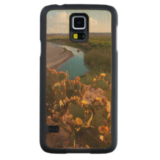 Prickly Pear Cactus (Opuntia Sp.) Carved® Maple Galaxy S5 Case