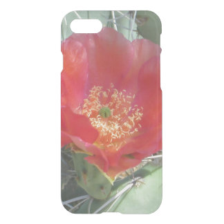 Prickly Pear Green with Red Bloom iPhone 8/7 Case