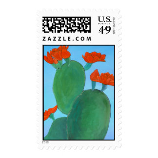 Prickly Pear in Bloom Stamps