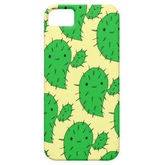 """Prickly Pear"" Kawaii Cacti iPhone/5SE Phone Case"