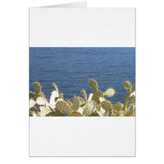 Prickly Pear on the Lake Card