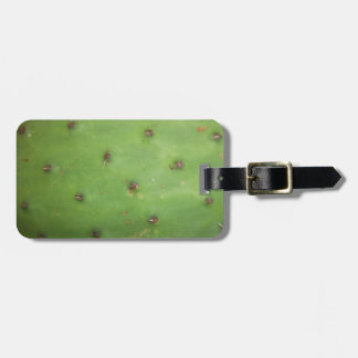 Prickly Pear Pad Tag For Luggage