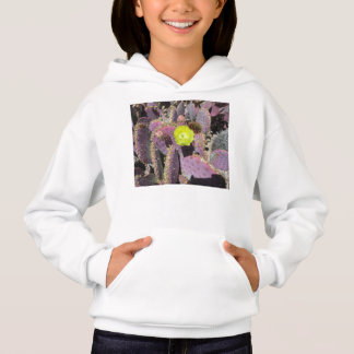 Prickly Pear - Purple Yellow Hoodie