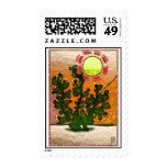 prickly pear stained glass stamps