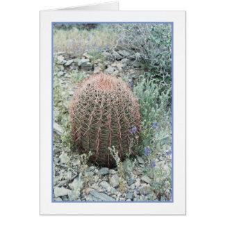 Prickly Pink Petals Greeting Card