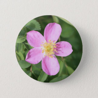 Prickly Rose Button