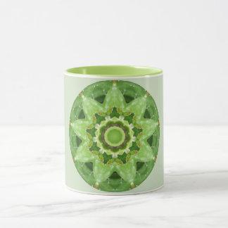 Prickly Star Cactus Fractal Mug