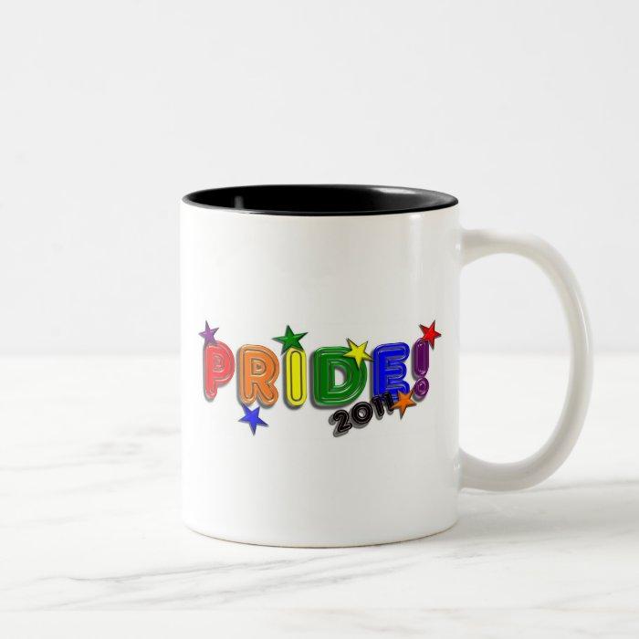 Pride!  2011 Two-Tone coffee mug