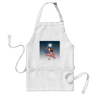 pride adult apron