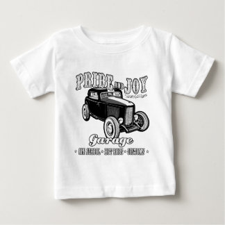 Pride and Joy Hot Rod Garage. Light background Tee Shirts