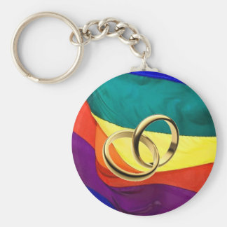 Pride and Marriage Keychains