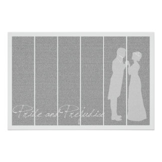 Pride and Prejudice 24x36 full text poster