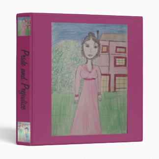 Pride and Prejudice 2 3 Ring Binder