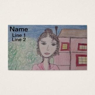 Pride and Prejudice and Emma Business Card