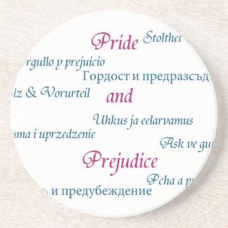 Pride and Prejudice around the world. Coaster