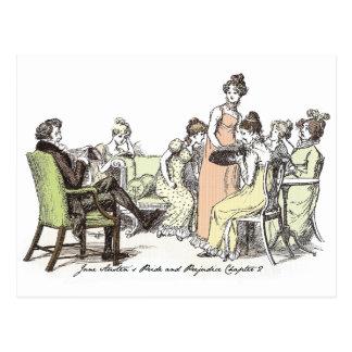 Pride and Prejudice - Bennet Family Postcard