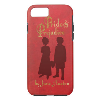 Pride and Prejudice book cover style iPhone 7 case