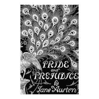 Pride and Prejudice Classic Cover with Peacock Stationery