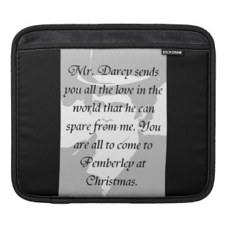 Pride and Prejudice double-sided iPad Sleeve