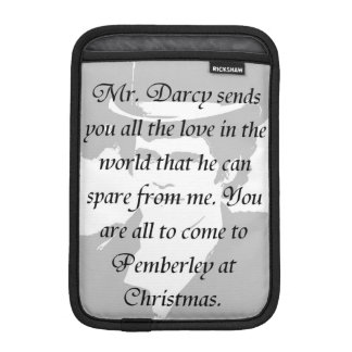 Pride and Prejudice double-sided Sleeve For iPad Mini