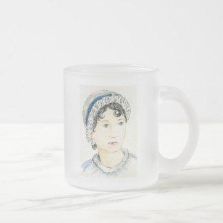 Pride And Prejudice Frosted Glass Coffee Mug