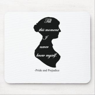 Pride and Prejudice I never knew myself Mouse Pad