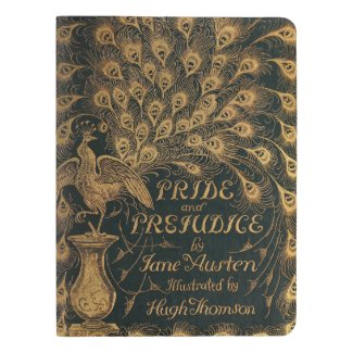 Pride and Prejudice Jane Austen (1894) Extra Large Moleskine Notebook