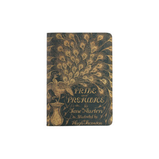 Pride and Prejudice Jane Austen (1894) Passport Holder