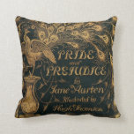 Pride and Prejudice Jane Austen (1894) Throw Pillow