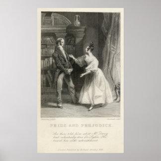 Pride and Prejudice Jane Austen Print