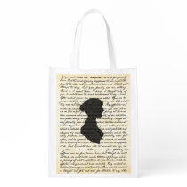 Pride and Prejudice Jane Austen Reusable Bag