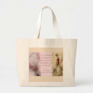 Pride and Prejudice Large Tote Bag