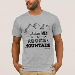 "Pride and Prejudice ""Mountains"" Mens' Tee"