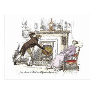 Pride and Prejudice - Mr. Bingley Dotes on Jane Be Postcard