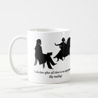 Pride and Prejudice - No enjoyment like reading Coffee Mug