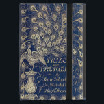 """Pride And Prejudice Peacock Edition Book Cover<br><div class=""""desc"""">This design has been created from the book cover of the beautiful &#39;Peacock&#39; 1894 edition of Jane Austen&#39;s Pride And Prejudice If you have the iPad Mini 4 please contact me as the design will have to be adjusted to fit the new size and I will email you a link...</div>"""